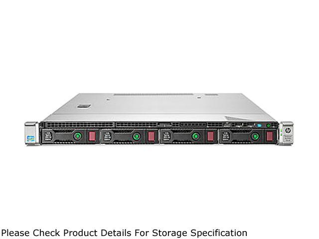 HP ProLiant DL320e Gen8 Rack Server System Intel Xeon E3-1240V2 3.4GHz 4C/8T 8GB DDR3 No Hard Drive 675422-001
