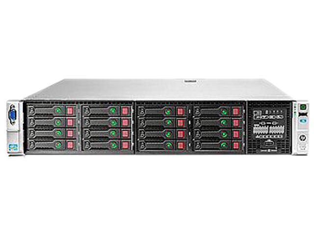 HP ProLiant DL380p Gen8 Rack Server System Intel Xeon E5-2640 2.5GHz 6C/12T 16GB (2x8GB) DDR3 No Hard Drive 706539-S01