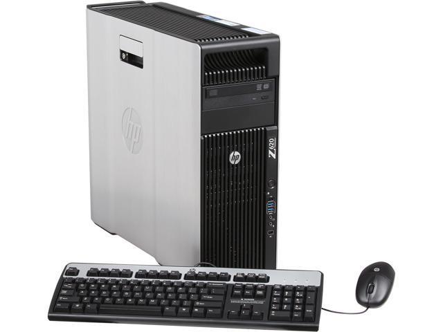 HP Z620 Workstation Rackable minitower Server System Intel Xeon E5-2620 2GHz 6C/12T 6GB DDR3 500GB 7200 rpm SATA NCQ Windows 7 Professional 64 B2B77UT#ABA