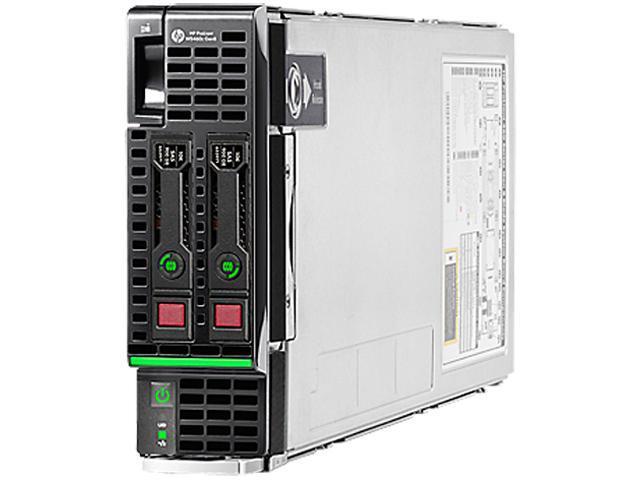 HP ProLiant WS460c Gen8 Blade Server System 2 x Intel Xeon E5-2637 3GHz 2C/4T 32GB (8x4GB) DDR3 No Hard Drive 678275-B21