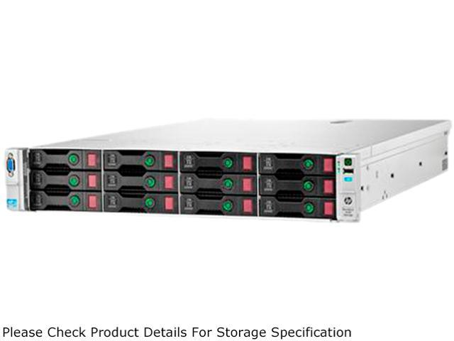 HP StoreEasy 1630 Rack Storage Server Intel Xeon E5-2407 2.2GHz 4C/4T 12GB (3x4GB) DDR3 Microsoft Windows Storage Server ...