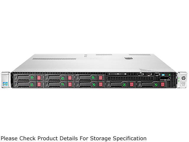 HP ProLiant DL360p Gen8 Rack Server System Intel Xeon E5-2609 V2 2.5GHz 4C/4T (Max 2 Sockets/8 Cores) 8GB DDR3-1600 No Hard ...