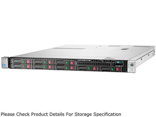HP ProLiant DL360p Gen8 Rack Server System 2 x (Intel Xeon E5-2660 V2 2.2GHz 10C/20T) 32GB DDR3-1600 737293-S01
