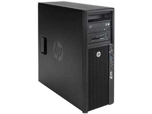 HP Z420 Workstation Mini-tower Server System Intel Xeon E5-1607 v2 3.0GHz 4GB DDR3 1866 Windows 7 Professional 64-bit F1J96UT#ABA