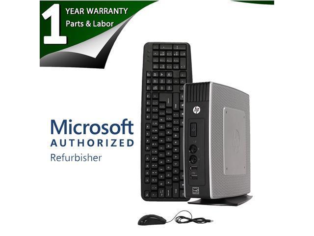 HP Thin Client T5570 VIA U3500 1.0 GHz 2GB DDR3 and 32G Flash Memory Windows 7 Professional 32-Bit