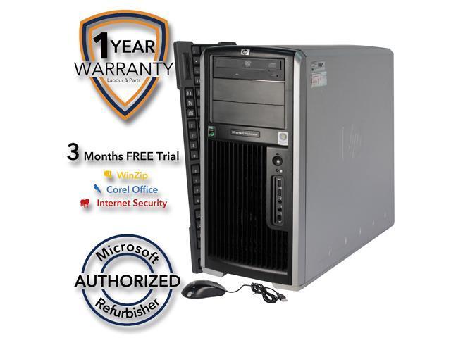 Tower Server System AMD Opteron 4GB DDR2 320GB Windows 7 Professional 64-bit 15VFHPDT0120