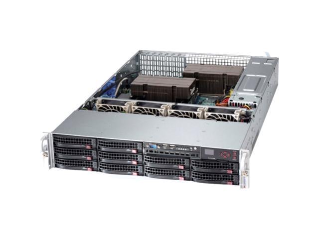 Supermicro SuperServer 6027AX-TRF-HFT1 2U Rack Server - Intel Xeon 3.10 GHz