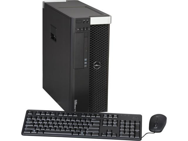 DELL Precision Mini-tower Server Workingstation Intel Xeon E5-1607 v2 3.0GHz 4GB DDR3 1600 500GB 7200RPM Windows 7 Professional 64-bit T3610 (462-3482)