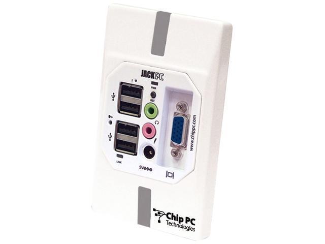 Chip PC Thin Client Jack PC EFI7800 Server System RMI Au 1550, 500 MHz RISC, equivalent to x86 1.2 GHz 128 MB CPN04186