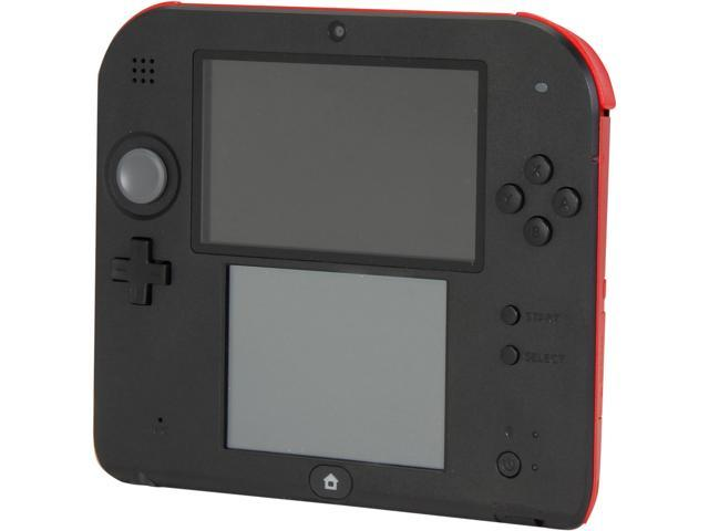 Nintendo 2DS Hardware Crimson Red