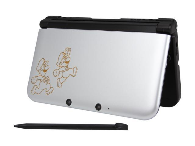 Nintendo 3DS XL Handheld Gaming System Mario & Luigi Dream Team Edition Silver