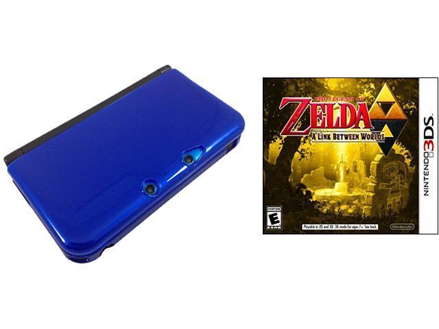 Nintendo 3DS XL Blue Console Bundle with Legend of Zelda