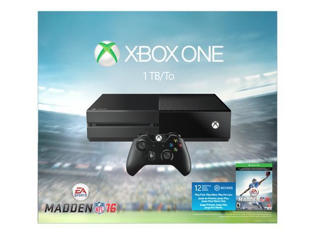 Microsoft Xbox One Madden 16 Limited Edition 1TB Bundle