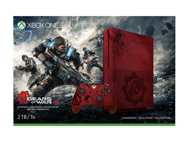 Xbox One S 2TB Console - Gears of War 4 Limited Edition Bundle