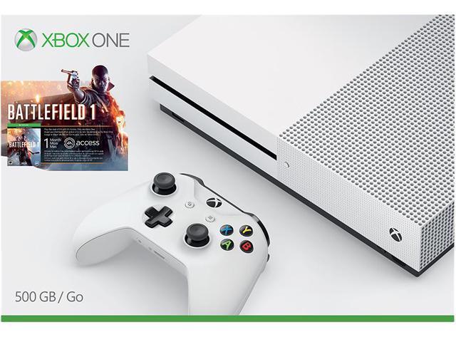 Xbox One S 500 GB Console - Battlefield 1 Bundle