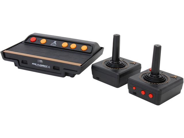 atgames atari flashback 4 classic game console with 75 games. Black Bedroom Furniture Sets. Home Design Ideas