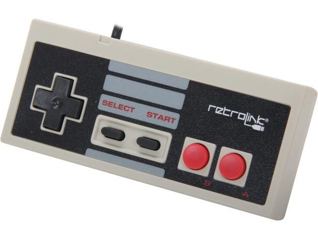 Retro-Link NES PC USB Controller - Classic Style