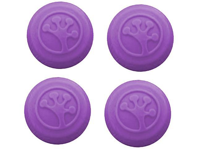 Grip-iT Purple Analog Stick Covers Thumb Grips for Xbox 360, Xbox One, PS3 and PS4, 4Pack TJ8221 Purple