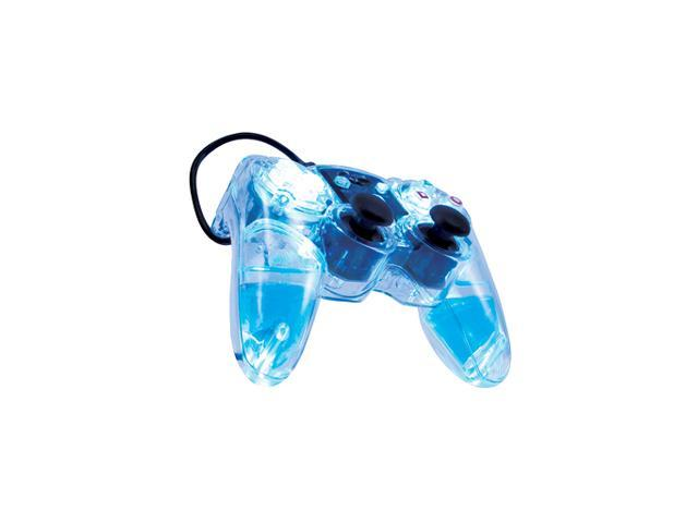 dreamGEAR Playstation 2 Lavaglow Wired Controller In Gift Box (Blue)