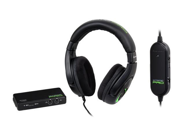 Sharkoon X-Tatic Pro Real 5.1 Gaming Headset for PlayStation 4, PlayStation 3, Xbox 360, and PC