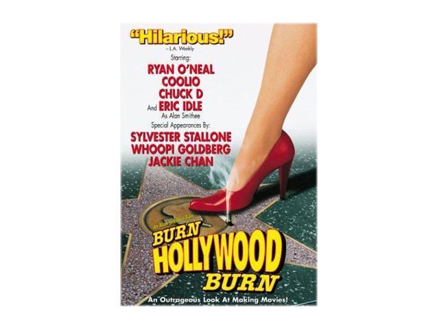Alan Smithee Film: Burn Hollywood Burn (DVD) Ryan O'Neal; Coolio; Chuck D; Richard Jeni; Eric Idle; Leslie Stefanson; Sandra Bernhard; Cherie Lunghi; Harvey Weinstein; Gavin Polone