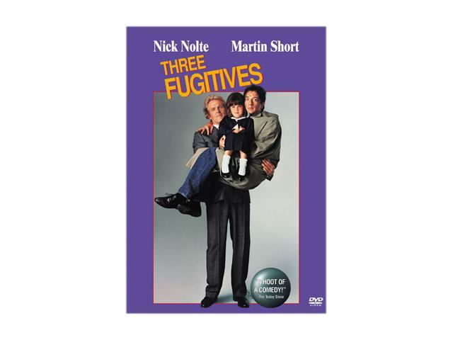 Three Fugitives (1989) / DVD Nick Nolte, Martin Short, Sarah Rowland Doroff, James Earl Jones, Alan Ruck