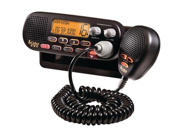 Cobra MR F55B-D Marine Radio