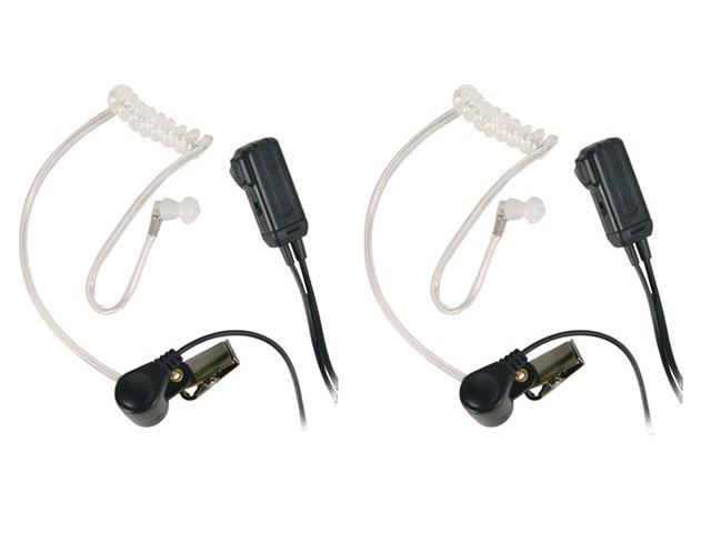 MIDLAND AVP-H3 2 Clear behind ear Microphone For GMRS/FRS Radios