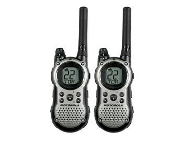 MOTOROLA Talkabout T9680RSAME GMRS/FRS 2-Way Radios with 28-Mile Range