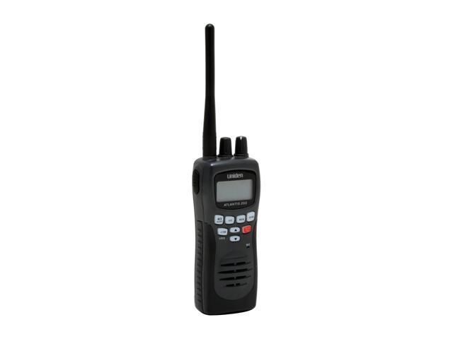 Uniden ATLANTIS-250BK Handheld Two-Way VHF Marine Radio