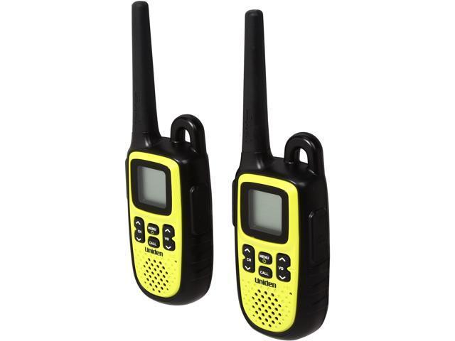 Uniden 28 Mile Waterproof 2-Way Radios, Lime Green (GMR-2838-2CK)