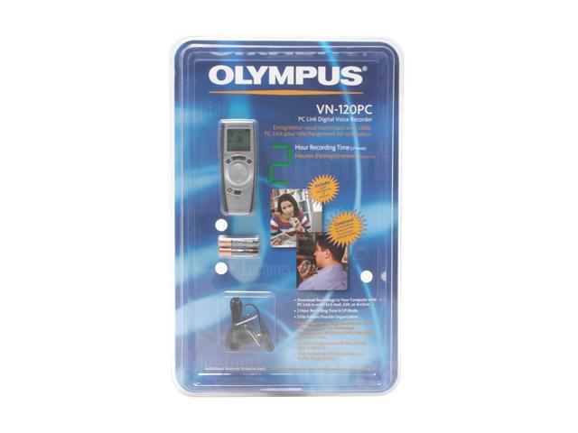 OLYMPUS VN-120PC USB PC Interface Digital Voice Recorder Built-in 16MB Memory