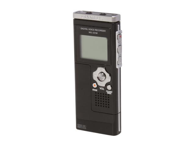 OLYMPUS WS-331M USB direct, 2.0 full speed PC Interface Digital Voice Recorder
