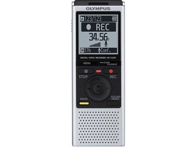 Olympus VN-722PC 4GB Digital Voice Recorder