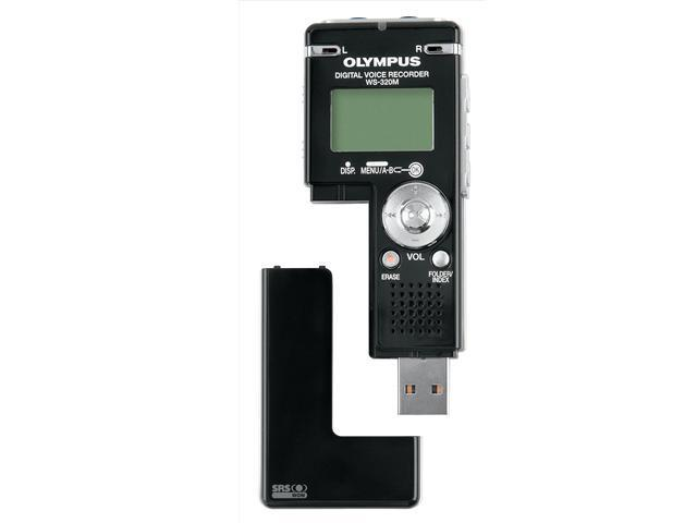 OLYMPUS WS-320M USB PC Interface Digital Voice Recorder with Music Player