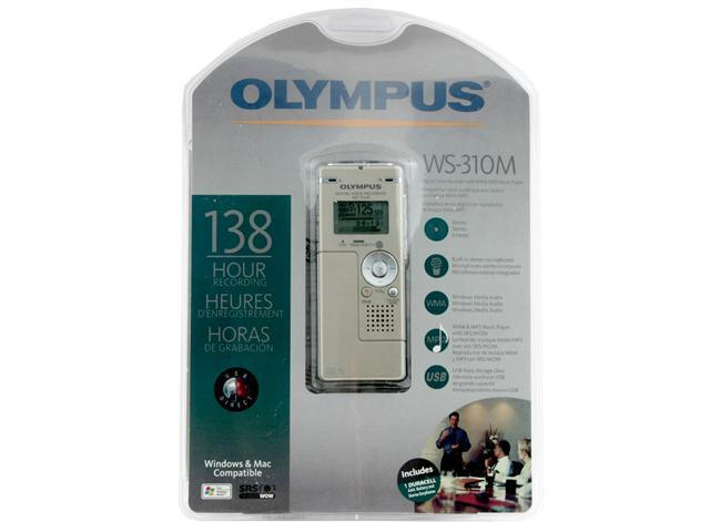 OLYMPUS WS-310M USB PC Interface Digital Voice Recorder with Music Player