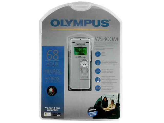 OLYMPUS WS-300M USB PC Interface Digital Voice Recorder with Music Player