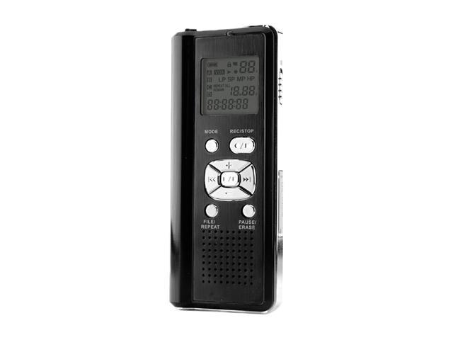 Coby CXR190-4G Digital Voice Recorder with Integrated Speaker