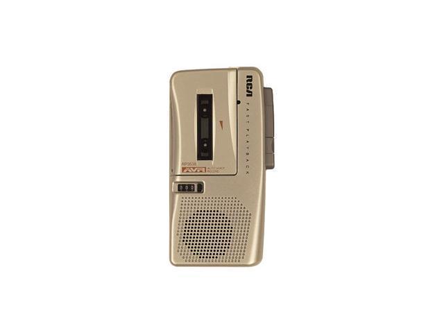 RCA RP3538 Micro Cassette Tape Recorder