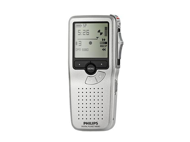 Philips LFH9380/27 USB PC Interface Pocket Memo Digital Dictation Recorder with SpeechExec Workflow Software