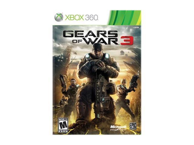 Gears of War 3 Xbox 360 Game