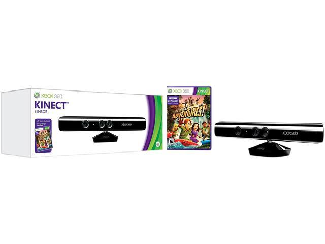 Microsoft Kinect w/Kinect Adventures for XBOX 360