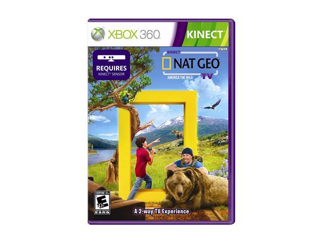 Kinect Nat Geo TV Xbox 360 Game