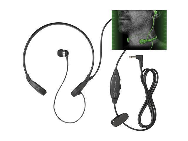 Mad Catz Modern Warfare 2 Throat Communicator for Xbox 360 - BLACK