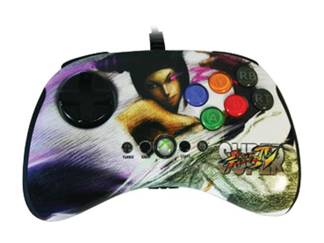 Mad Catz Super Street Fighter IV Round 2 FightPad Xbox 360 - Juri