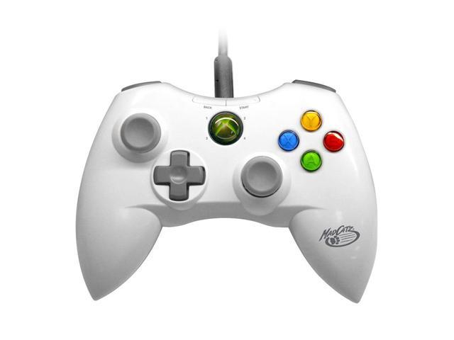 Mad Catz XBOX 360 Gamepad Controller White