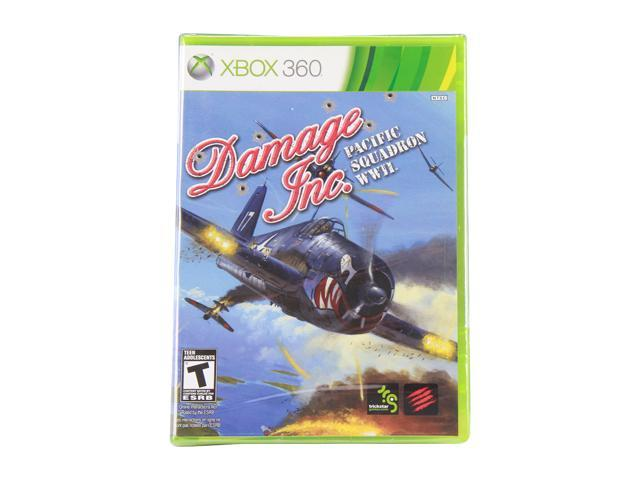 Damage Inc Pacific Squadron WWII Xbox 360 Game
