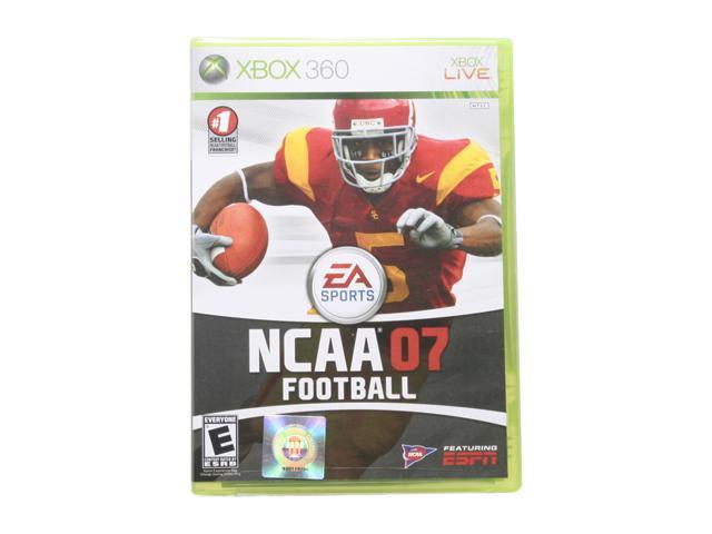 NCAA Football 2007 Xbox 360 Game EA