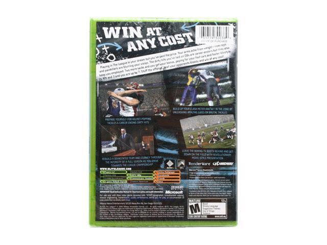 Blitz: The League XBOX game MIDWAY