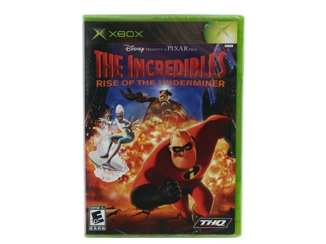 The Incredibles: Rise of the Underminer XBOX game THQ
